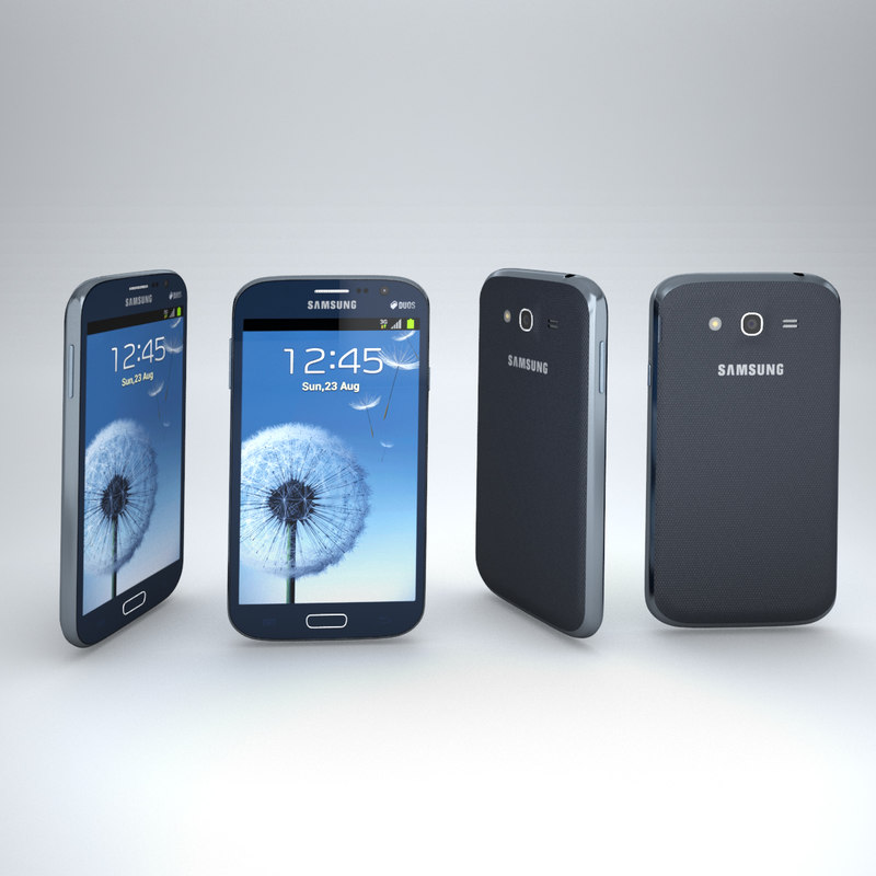 3d model of samsung galaxy grand duos