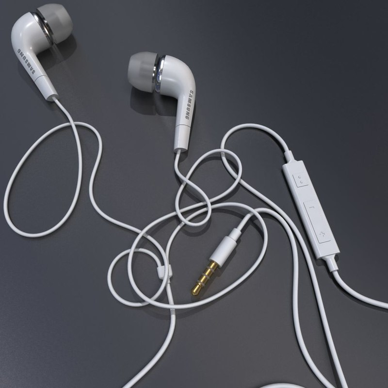 3d model of ears s
