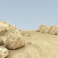 rocky mountain 3d max