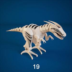 roboraptor dinosaurs robot max