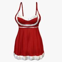 max woman santa dress