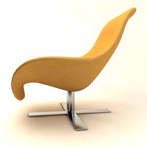 mart armchair antonio 3d 3ds