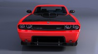 3ds max concept dodge challenger