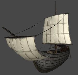 roman ship 3d max