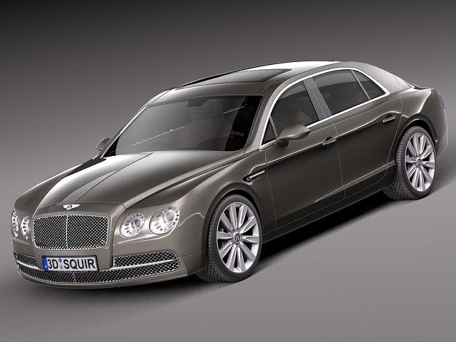 2013 2014 sedan luxury 3d 3ds