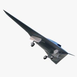 3d model boeing phantom