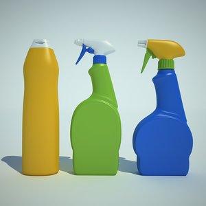 sprayer detergent 3d 3ds