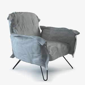 cumulus chair diesel 3d max