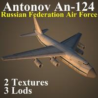 antonov russian rff 3d max