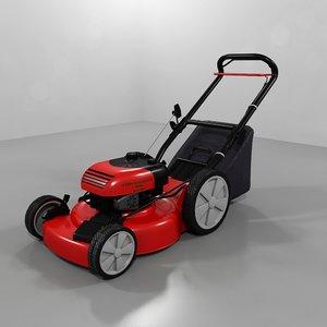 3d model lawn mower