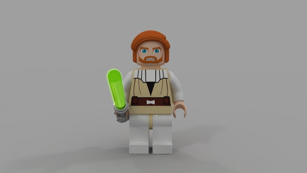 3d obi lego