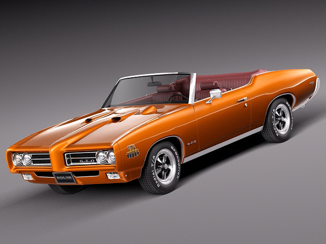 muscle car antique convertible max