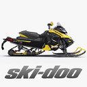 Snowmobile Ski-Doo MX Z X 2013 Cross-country