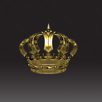 3d royal crown
