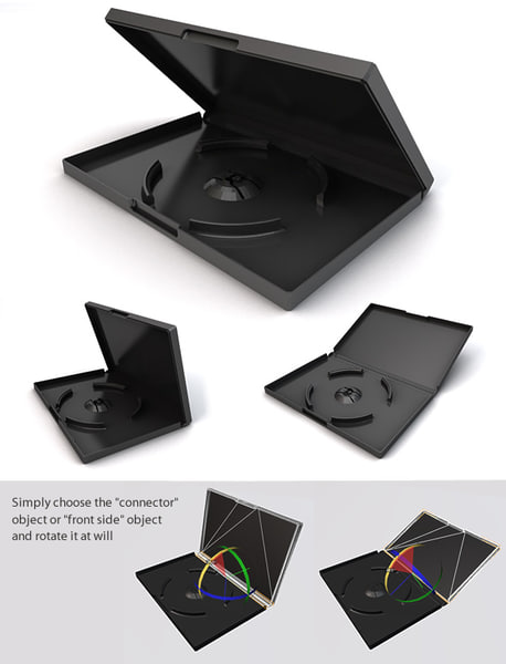 c4d dvd case
