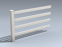 Fence (Quad-Rail Farm)
