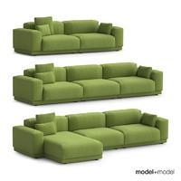 3d vitra place sofas