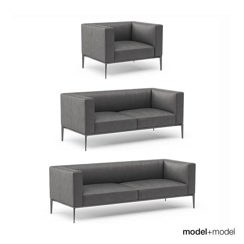 3d walter knoll jaan sofa armchair