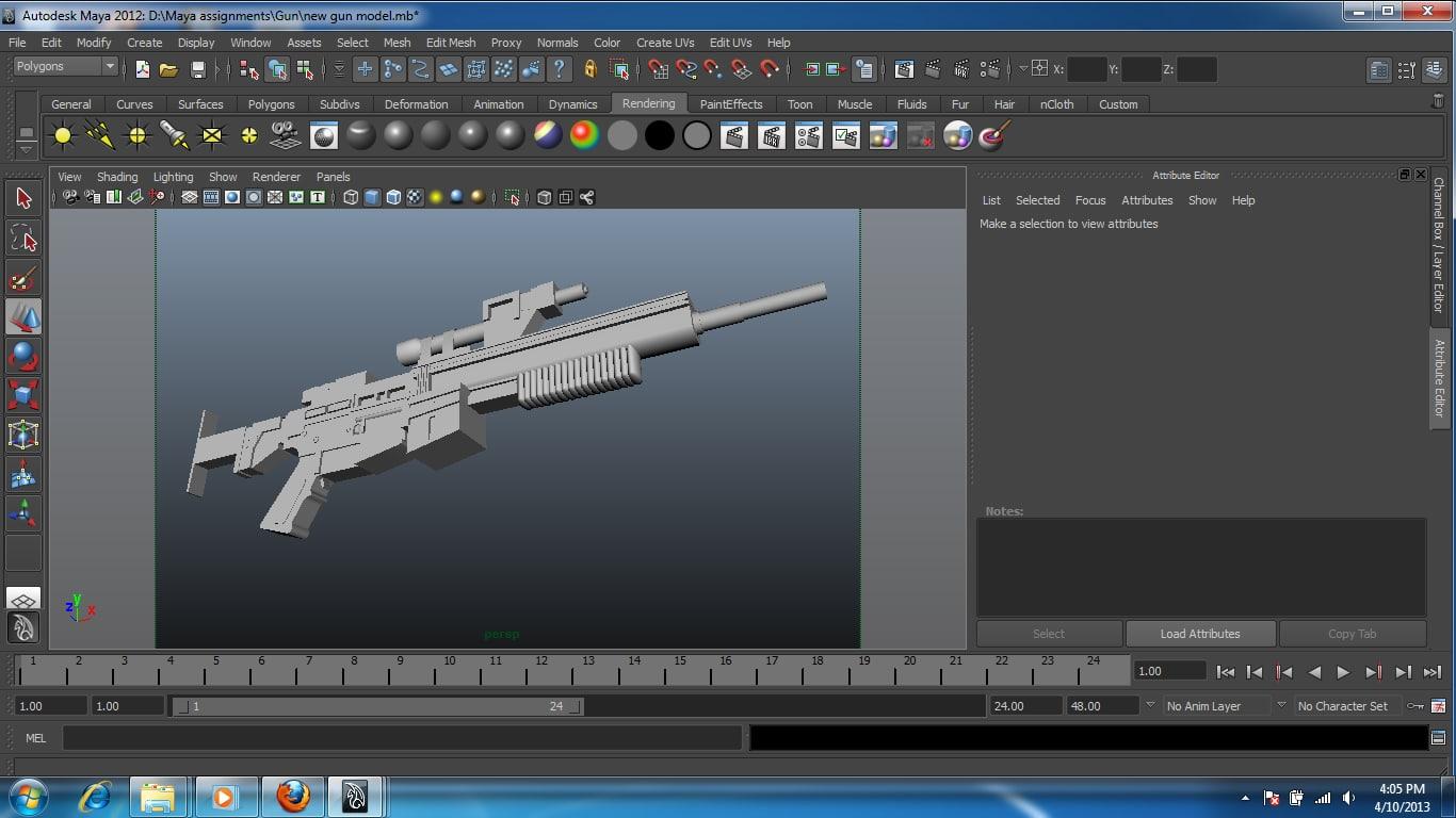 maya gun pmx destroyer