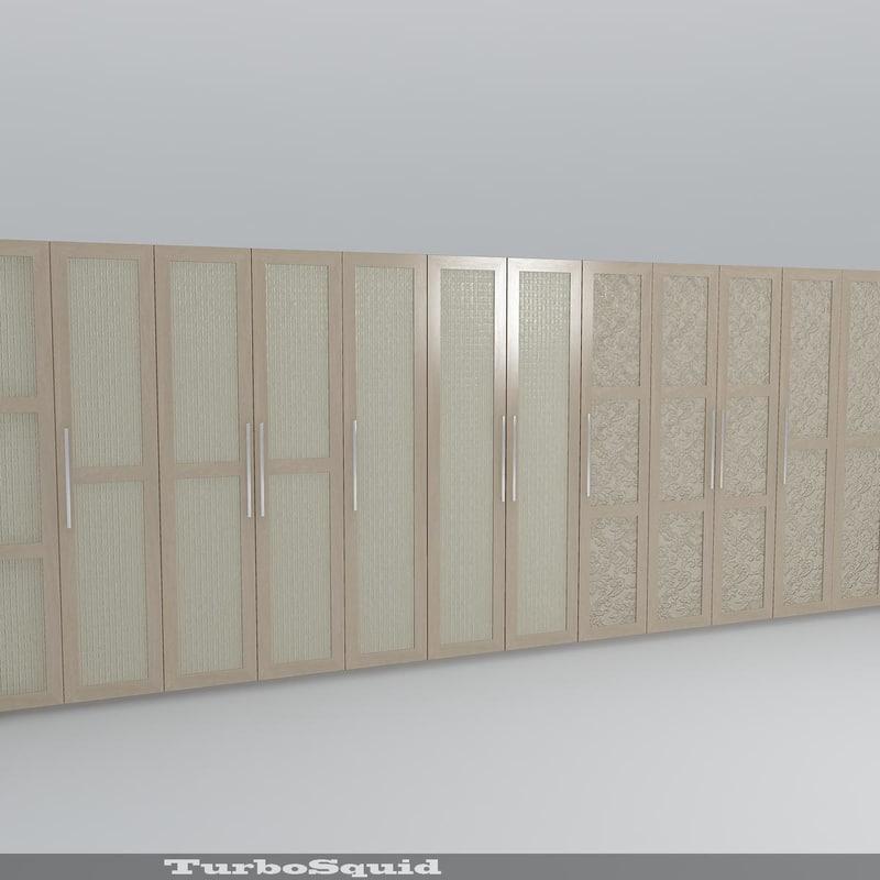 decorative furniture doors obj