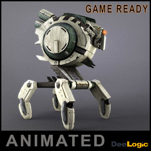 max robot animations