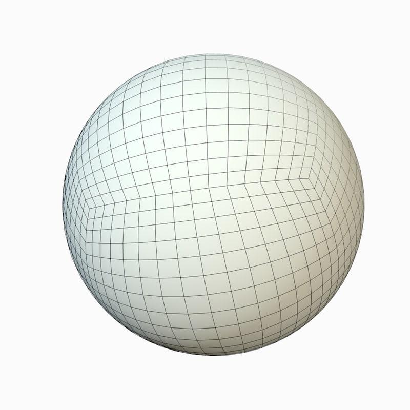 quads sphere 3ds free
