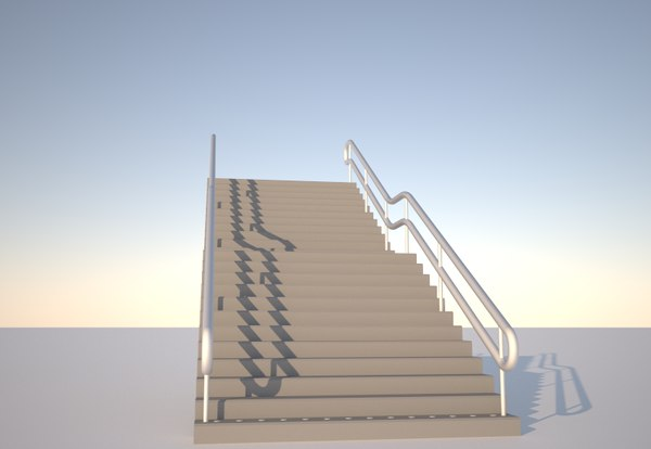 3ds staircase
