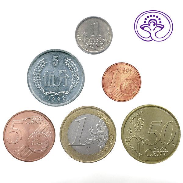 3d 6 coins model