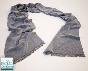 13 scarf 3d model