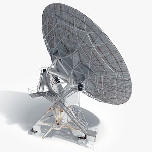 3d model vla radio telescope
