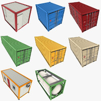 Cargo Containers Collection