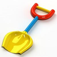 3d shovel