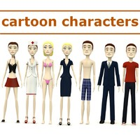 cartoon characters - Tom and Cindy