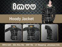 3d hoody imvu file model