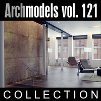 archmodels vol 121 chairs 3d model