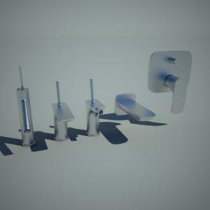 3ds max bathroom mixer bath