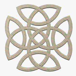 celtic knot fg 3d model