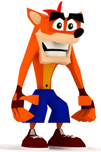 crash bandicoot max
