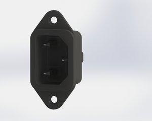 3ds max power socket