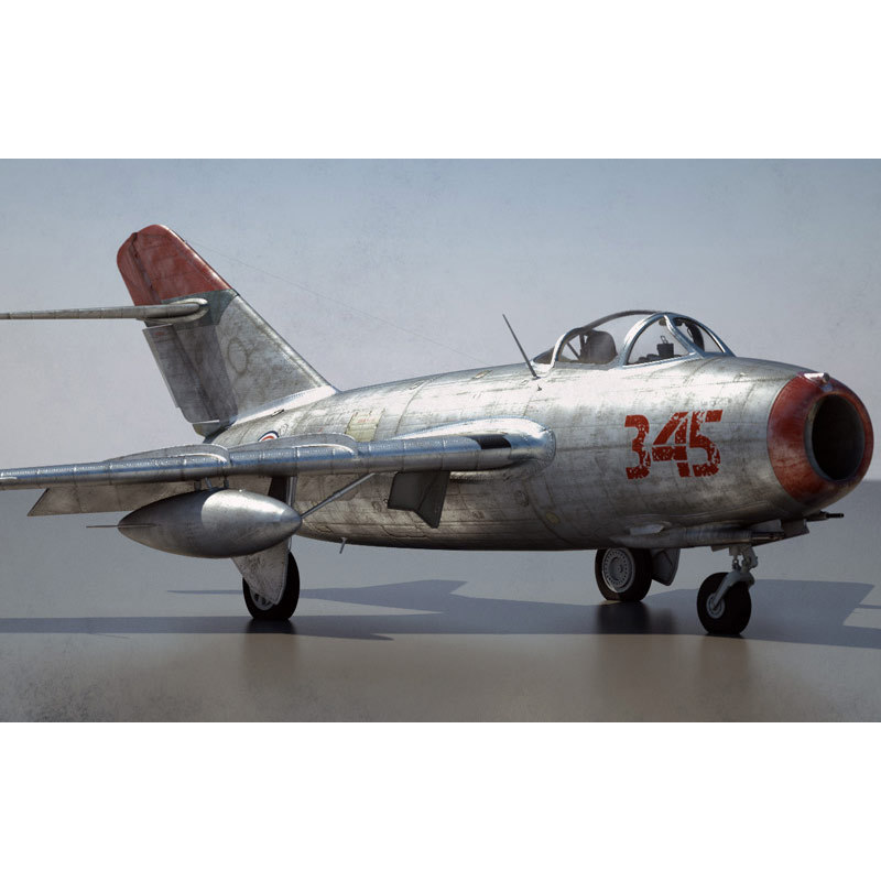mikoyan-gurevich jet fighter mig 3d 3ds