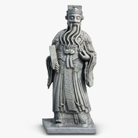 Thailand Statuette 4 Monk
