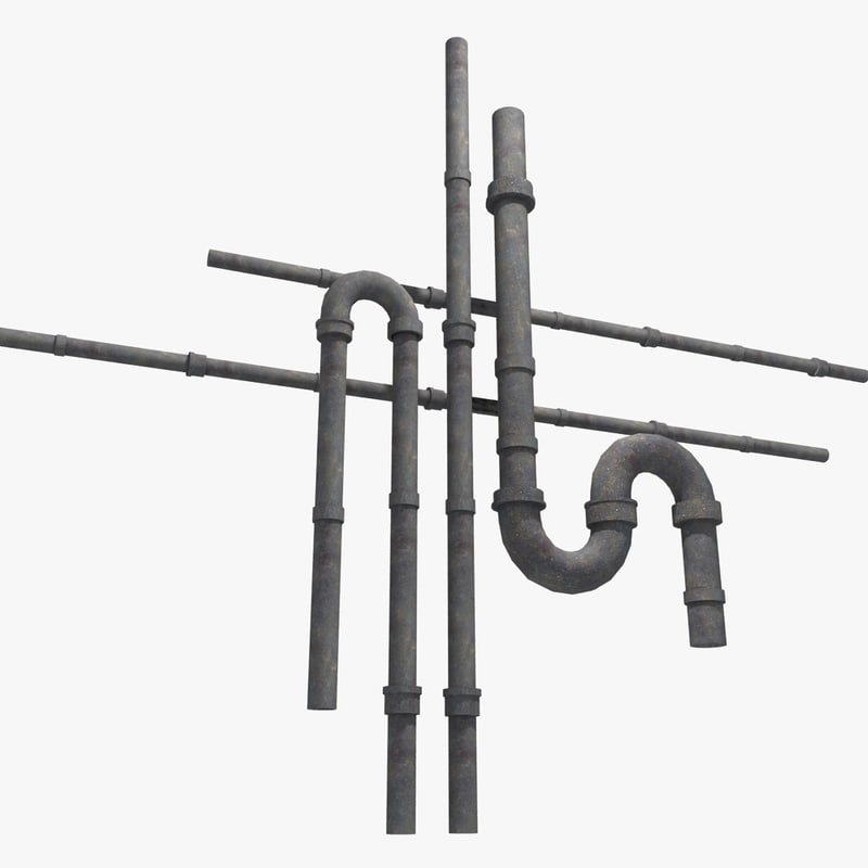 piping details 3d max
