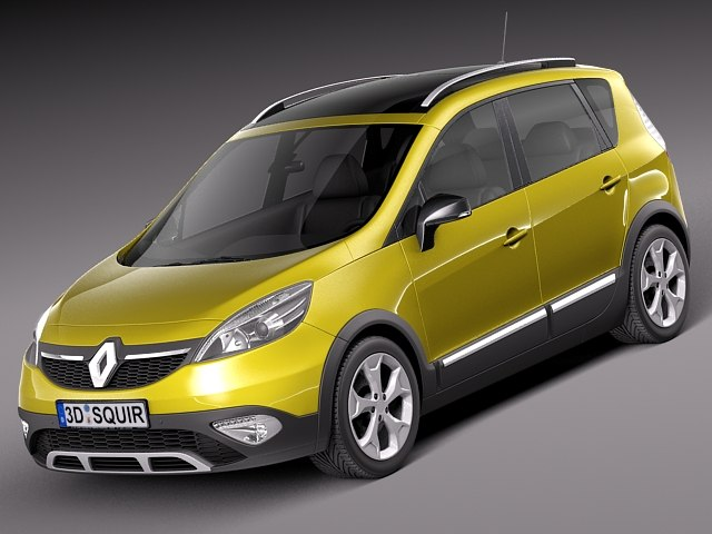 3ds max 2013 2014 suv renault