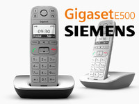siemens gigaset e500 phone max