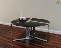 designed thirds cocktail table 3d 3ds