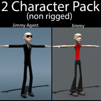 3dsmax character pack 01