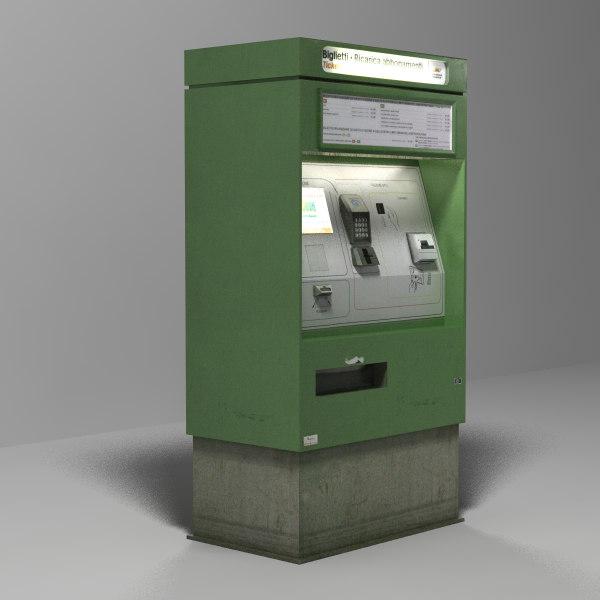 ticket machine 3d 3ds