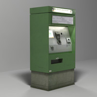 ticket machine 3d 3ds