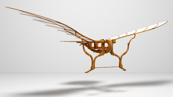 cinema4d flying machine