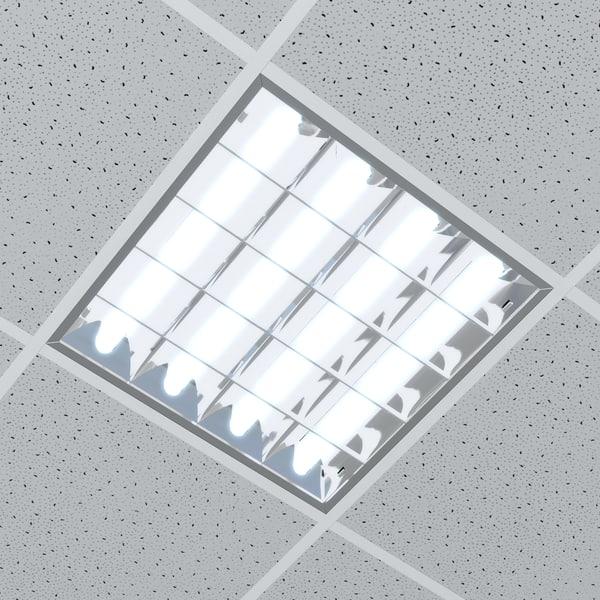 Office Ceiling Lamp Lighting Model
